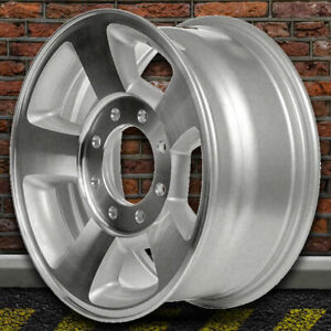 17 Machined And Silver Wheel For 2003 2009 Dodge Ram 1500 By Revolve