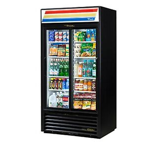 True Gdm 33 hc ld 39 2 Section Glass Door Refrigerated Merchandiser With Led L