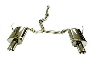 Performance Catback Exhaust For 08 10 Subaru Wrx Sedan Forester Xt 2 5t By Obx