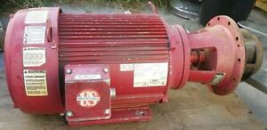 Electric Water Pump 15 Hp Emerson B046