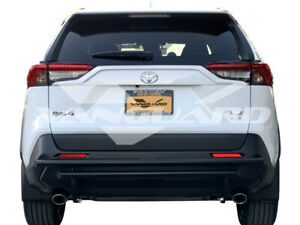 Vanguard Fits 19 20 Toyota Rav4 Rear Bumper Protector Guard Double Layer B K