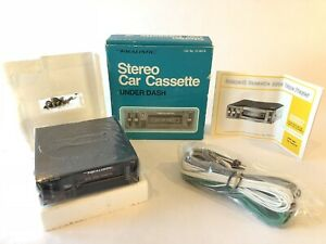 Vintage Realistic Stereo Car Cassette Player 12 1807a With Manual New In Box