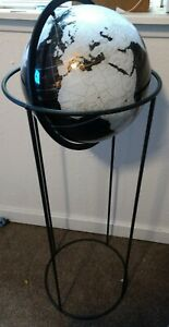 Modern Standing Globe Spherical Concepts Black And White