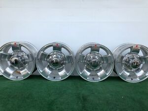 Rare Ford F250 F350 Harley Davidson 18 Genuine Factory Oem Wheels Rim Caps Set