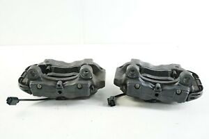 226 Audi Q7 07 15 4l Rear Left Right Side Brembo Brake Caliper Set Pair