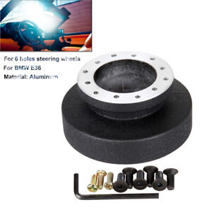 Steering Wheel Racing Quick Release Hub Adapter Boss Kit For Bmw E36 21mm