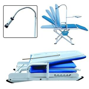Fda Mobile Chair With Cold Light cuspidor Tray Dentistry Equipment Dental Unit