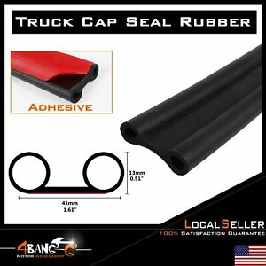 Weather Stripping Pickup Truck Rubber Bed Tailgate Seal Universal Adhesive 12ft