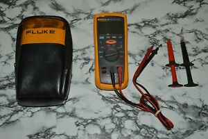 Fluke 1507 Insulation Resistance Tester W Accessories tested Working