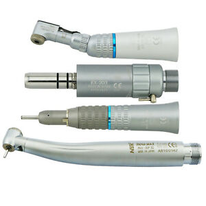 Nsk W h Dental Led High Speed Pana Max 2 4 Hole Low Speed Contra Angle Handpiece