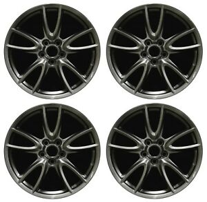 19 Ford Mustang 2011 2012 2013 2014 Factory Oem Rim Wheel 3862 Hyper Full Set