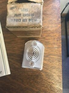 Studebaker 1956 Front Parking Light Lens 1312666 Nos Price Is For One