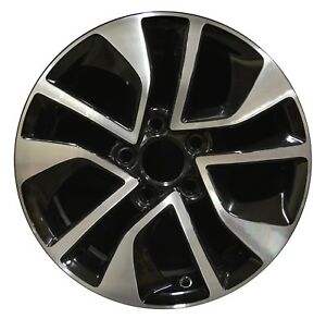 16 Honda Civic 2013 2014 2015 Factory Oem Rim Wheel 64054 Black Machined