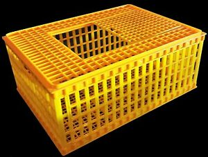 Rite Farm Products Hd29x21x12 Poultry Transport 4h Show Cage Coop Basket Chicken