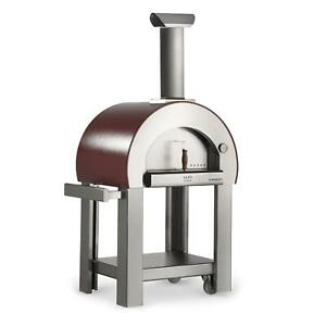 Alfa 5 Minuti 23 inch Outdoor Wood fired Pizza Oven Copper
