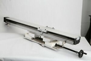 42 75 Thk Linear Actuator Belt Drive Rail Cnc Plasma M r Height I dot Idot