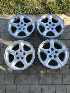 Jeep Ultrastar 16 Inch Factory Wheels Set 5 9 Limited Zj Xj Mj Yj Tj