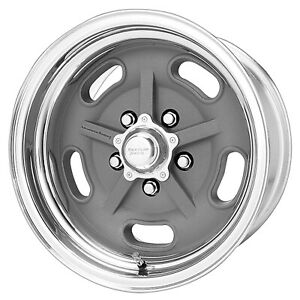 1 New 18x9 5 American Racing Salt Flat Mag Gray Wheel Rim 5x127 18 9 5 Et 5