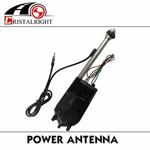 Car Parts Stainless Steel Power Antenna Aerial Radio Am Fm Replacement Kit