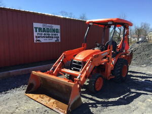 2011 Kubota B26 4x4 Diesel Compact Tractor Loader Backhoe Only 1600hrs