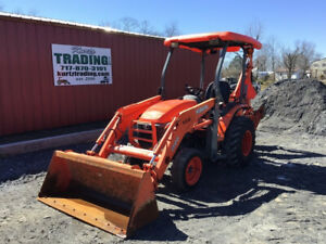 2011 Kubota B26 4x4 Diesel Compact Tractor Loader Backhoe Only 1500 Hours