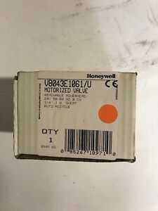 Honeywell V8043e1061 Motorized Valve 3 4 24v Sweat