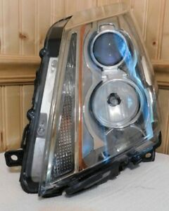 2008 2014 Cadillac Cts Left Front Headlight Assembly P n 25897357