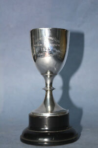 Sterling Silver Motor Club Trophy Cup From London 1923