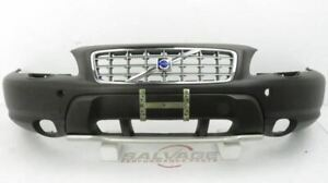 2001 2005 Volvo Xc70 V70 Xc Oem Front Bumper Cover W headlamp Washer Cut outs Br