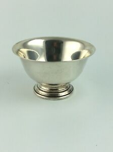 Vintage Frank Whiting Sterling Silver Paul Revere Bowl 660