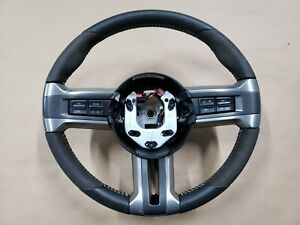 2011 2012 Ford Mustang Shelby Gt500 Leather And Suede Steering Wheel Oem