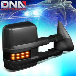 For 1999 2007 Silverado Sierra Right Powered Heated Towing Mirror W Led Signal