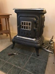 Washington Stove Works Wood Burning Parlor Stove