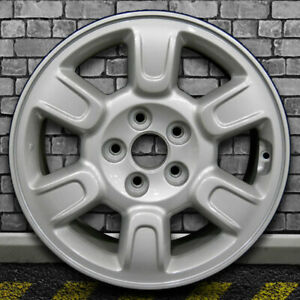 Full Face Medium Silver Oem Wheel For 2006 2008 Honda Ridgeline 17x7 5
