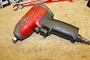 Snap On Tools 3 8 Drive Impact Gun Mg31 Air Impact Wrench Heavy Duty