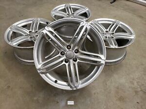 19 Oem Audi S5 A5 A4 S4 Peelers Rims Triple Spoke Alloy Factory Wheels