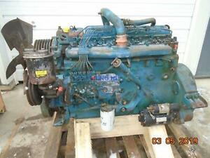 International Dta466 Engine Complete Good Runner Esn 468tm2u543303