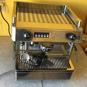 New 1 Group Commercial Espresso Machine 110 Volts Great Stainless Steel