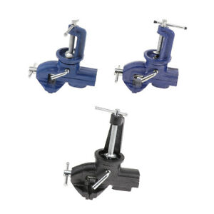Table Vise 360 Degree Rotating Jaw Head Universal Clamp Fixed Tools