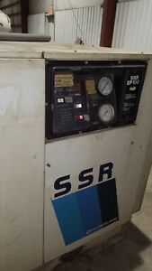 Ingersoll Rand Ssr ep250 Air Compressor 250 Hp 1066 Cfm Volts 460 3 Phase