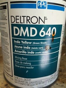 Ppg Deltron Dmd 640 Indo Yellow Green Shade
