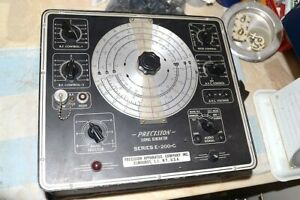 Precision Apparatus Co Paco E 200 c Tube Signal Generator Rf af Pro Serviced