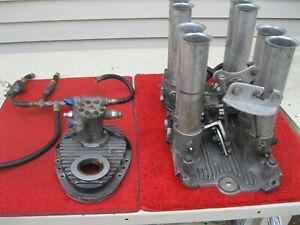 Hilborn Fuel Injection Set Up For Small Block Chevy 265 C8d Pdc 4 1 Pg 150 Nice