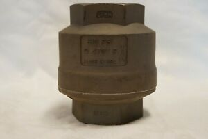 Stainless Steel Inline 2 Check Valve Cf8m 510 Psi Made In Usa