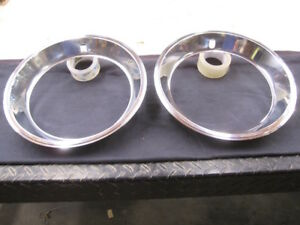 Mopar Trim Rings 15 X 2 For 15 Rally Wheel Oem Nice Condition M249
