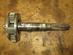 Ih Farmall 400 450 Live Pto Shaft And Planter Gear Assembly Antique Tractor