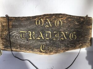 Early Mid 19th C Antique Wooden Sign Engraved Gold Gilt Lettering Unique Sign