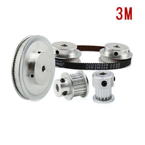 3m 15t 100t Pitch 3mm Tooth Width 11mm Timing Belt Pulley Synchronous Wheel Gear