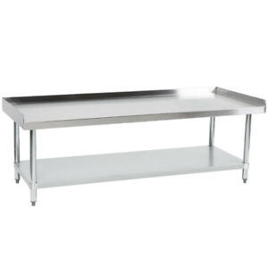 Cmi Commercial Stainless Steel Equipment Grill Stand With Undershelf 24 x60