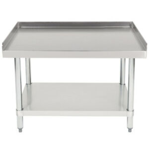 Cmi Commercial Stainless Steel Equipment Grill Stand With Undershelf 30 x36